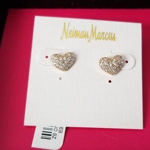 Heart Earrings by Neiman Marcus